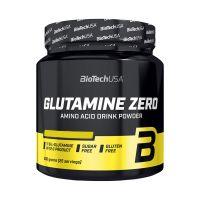 BioTechUsa Glutamine Zero barackos ice tea ízű