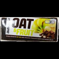 BioTechUsa Oat&Fruits Csokoládé-Banán szelet - 70g