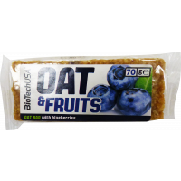 BioTechUsa Oat&Fruits Áfonya szelet - 70g