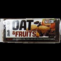 BioTechUsa Oat&Fruits Mazsola-Mogyoró szelet - 70g