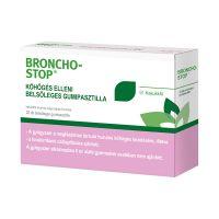 Bronchostop köhögés elleni belsőleges gumipasztilla