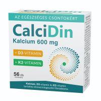 CalciDin Kalcium D3 K2 filmtabletta