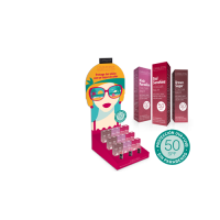 Camaleon ajakbalzsam színezett SPF50 csomag (Pingvin Product)