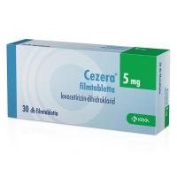 Cezera 5 mg filmtabletta