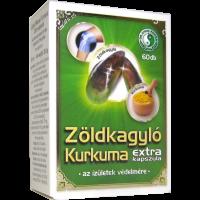 Zöldkagyló Kurkuma Extra kapszula DR.CHEN
