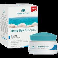 Cosmetic Plant Feszesítő éjszakai arckrém holt-tengeri ásványok, tengeri alga, Q10 koenzim