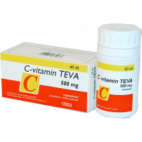 C-vitamin TEVA 500mg rágótabletta (Pingvin Product)