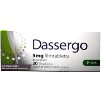Dassergo 5 mg filmtabletta(régi név:Esradin) (Pingvin Product)