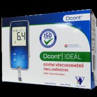 Dcont Ideál vércukorszintmérő készülék (Pingvin Product)
