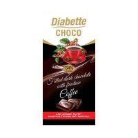Diabette kávés krémmel töltött étcsokoládé (Pingvin Product)