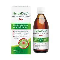 HerbalSept Duo köhögés elleni szirup