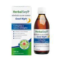 HerbalSept Good Night köhögés elleni szirup