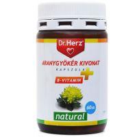Dr.Herz Aranygyökér+B-vitamin kapszula (Pingvin Product)