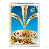 Omega-3 és 6-9 E-vitamin kapszula DR.CHEN