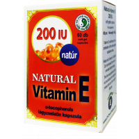 E-vitamin lágyzselatin kapszula 200 mg DR.CHEN