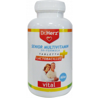 Dr.Herz Senior Multivitamin tabletta (Pingvin Product)