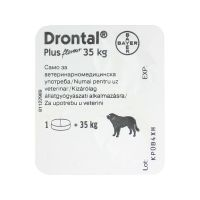 Drontal Plus tabletta 35 kg felett a.u.v.
