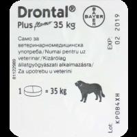 Drontal Plus tabletta 35 kg felett a.u.v. (kutya)
