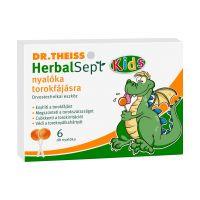 Dr.Theiss HerbalSept Kids nyalóka torokfájásra (6db)