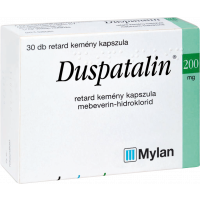 Duspatalin 200 mg retard kapszula