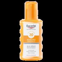 Eucerin Sun napozó spray F30 színtelen (Pingvin Product)