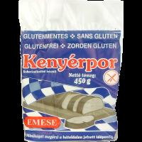 Gluténmentes kenyérpor Emese