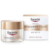 Eucerin Hyaluron-Fillers Elasticity Bőrtömörséget regeneráló nappali arckrém FF15 (Pingvin Product)