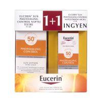 Eucerin Sun cs. P.C. naptej F30+P.C. napozókr.arcr (Pingvin Product)