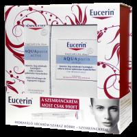 Eucerin AQUAporin csomag (szemránckrém+arckrém száraz bőrre) (Pingvin Product)