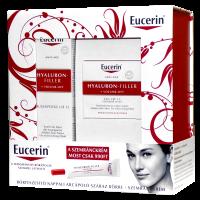 Eucerin Hyaluron-Filler+Volume csomag (arckrém száraz bőrre+szemránckrém) (Pingvin Product)