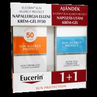 Eucerin Sun napallergia ellen F50 + napozás utáni gél (Pingvin Product)