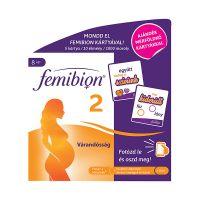 Femibion 2 Várandosság filmtabletta + kapszula + mérföldkő kártya