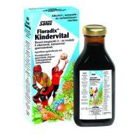 Floradix Kindervital D-vitamin. Ca és 8 vitaminnal