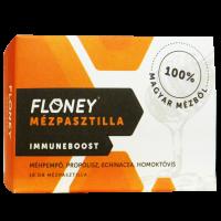 Floney mézpasztilla Immuneboost Echinacea Homoktövis Méhpempő