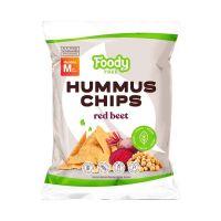 Foody Free Hummus chips Céklával