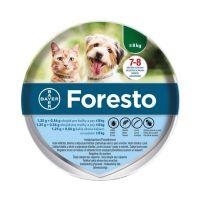 Foresto bolhanyakörv kiskutyák és macskák részére (a.u.v.)
