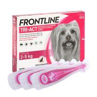 Frontline Tri-Act XS kutya 2-5 kg