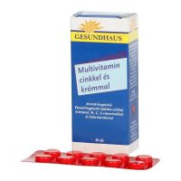 Gesundhaus Multivitamin Zn Króm tabletta