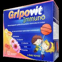 Gripovit Immuno nyalóka (Pingvin Product)