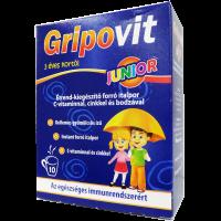 Gripovit Junior Italpor C vitaminnal Cinkkel és Bodzával (Pingvin Product)