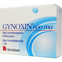 Gynoxin 600 mg lágy hüvelykapszula