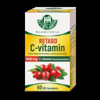 Herbária retard C-vitamin tabletta csipkebogyó kivonattal