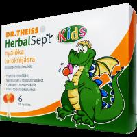 Dr.Theiss HerbalSept Kids nyalóka torokfájásra - 6x