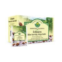 Herbária Bíbor kasvirág virágos hajtás borítékolt filteres tea