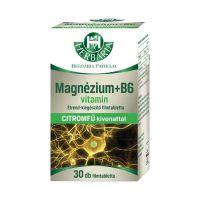Herbária Magnézium+ B6+ citromfű filmtabletta