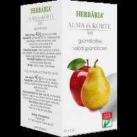 Herbária gyümölcstea Alma-Körte filteres