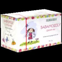 Herbária babamosoly gyermek tea borítékolt filter.