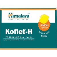 Himalaya Herbals Koflet-H bonbon méz-citrom (Pingvin Product)