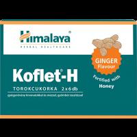 Himalaya Herbals Koflet-H bonbon méz-gyömbér (Pingvin Product)