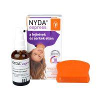 Nyda Express spray fejtetű serkeirtó (50ml)